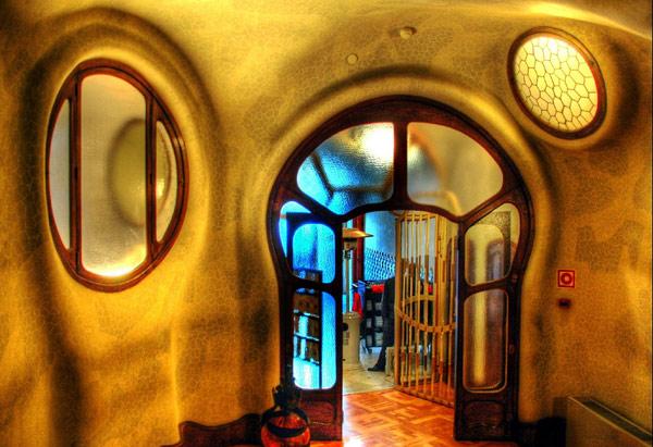 Daytrip in a rented minibus to enjoy the Gaudi Art
