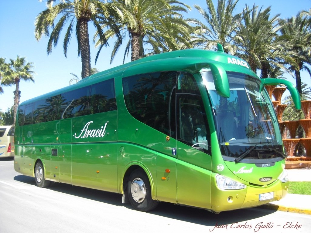 Minibus and coach hire in Murcia Province, Spain | Rent-Autobus
