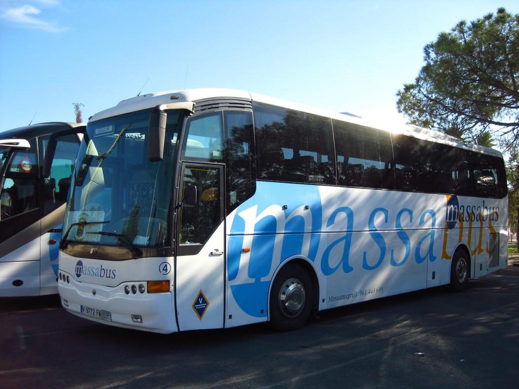 viaje autobus valencia: