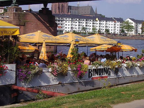 Boot-Restaurant in Frankfurt am Main