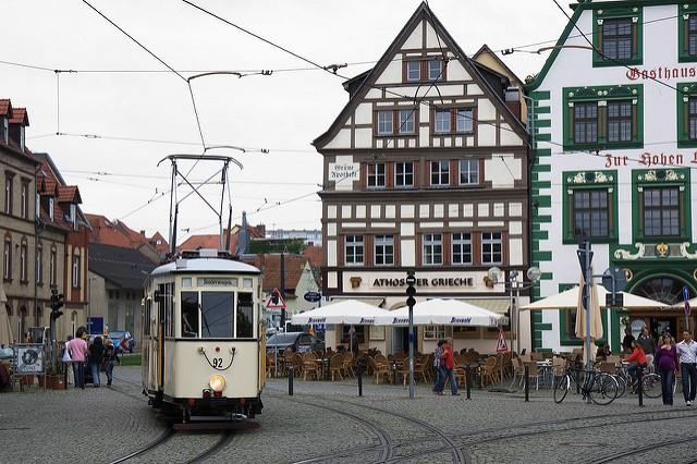 miete von bus reisebus und minibus in erfurt deutschland. Black Bedroom Furniture Sets. Home Design Ideas