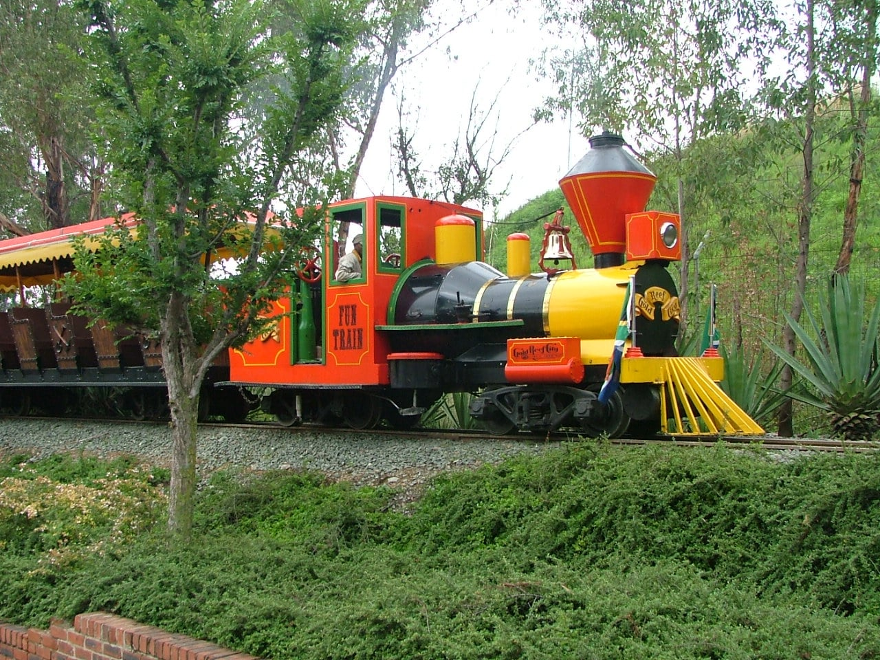 Fun Train at Gold Reef City, Gauteng