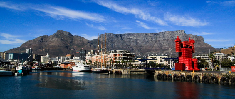 Harbour at the V&A Waterfront, Cape Town