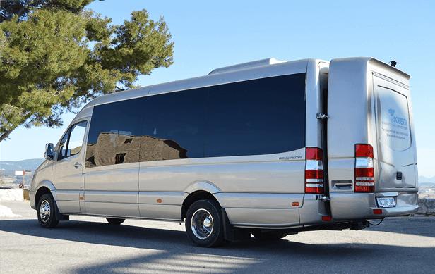 Mercedes Sprinter Minibus Images