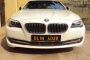 Car with driver, BMW, 5 Series, 2012, 4 seats
